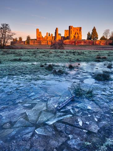 Kenilworth Castle. Warwickshire, England