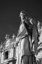 St Peter's Square. Rome, Italy
