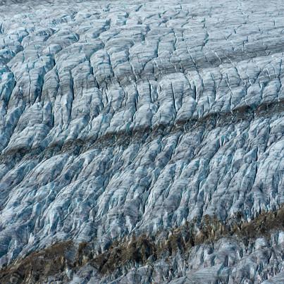 Aletsch Glacier. Valais, Switzerland