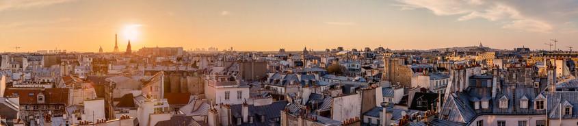 Paris skyline. France