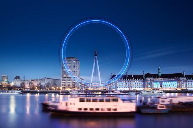 London Eye. london, England