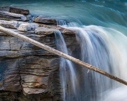 Athabasca Falls. Alberta, Canada