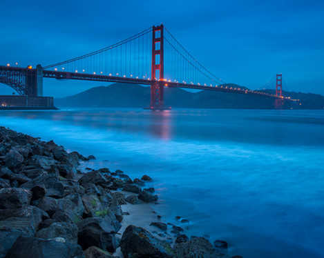 Golden Gate Bridge. San Francisco, USA
