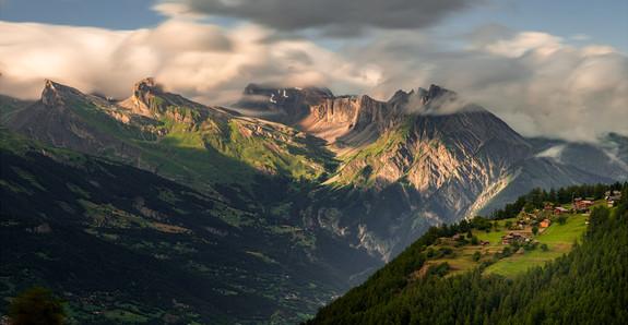 Rhône Valley. Valais, Switzerland