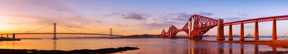 Firth of Forth. South Queensferry, Scotland