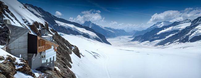 Jungfraujoch and Aletsch Glacier, Switzerland