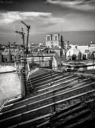 Paris Rooftops. France