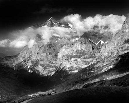 Wetterhorn. Bernese Alps, Switzerland
