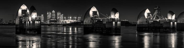 Thames Barrier. London, england