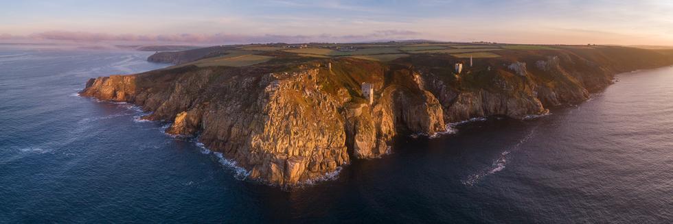 Rinsey Head. Cornwall, UK