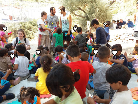 From Samos Volunteers to refugeeEd: Esther's story