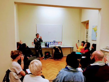 Our 4-day teacher training in Greece (27-30 January 2020)