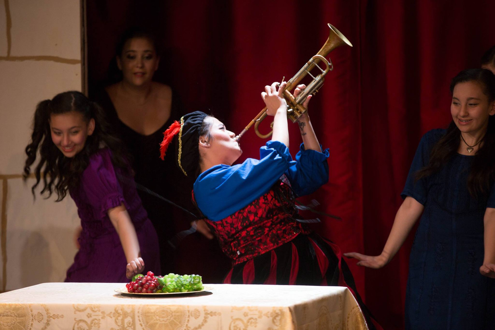 Tanya De Leon (Royal Page), Three Act Theatre Company.  Photo by Micah Jay Photography.