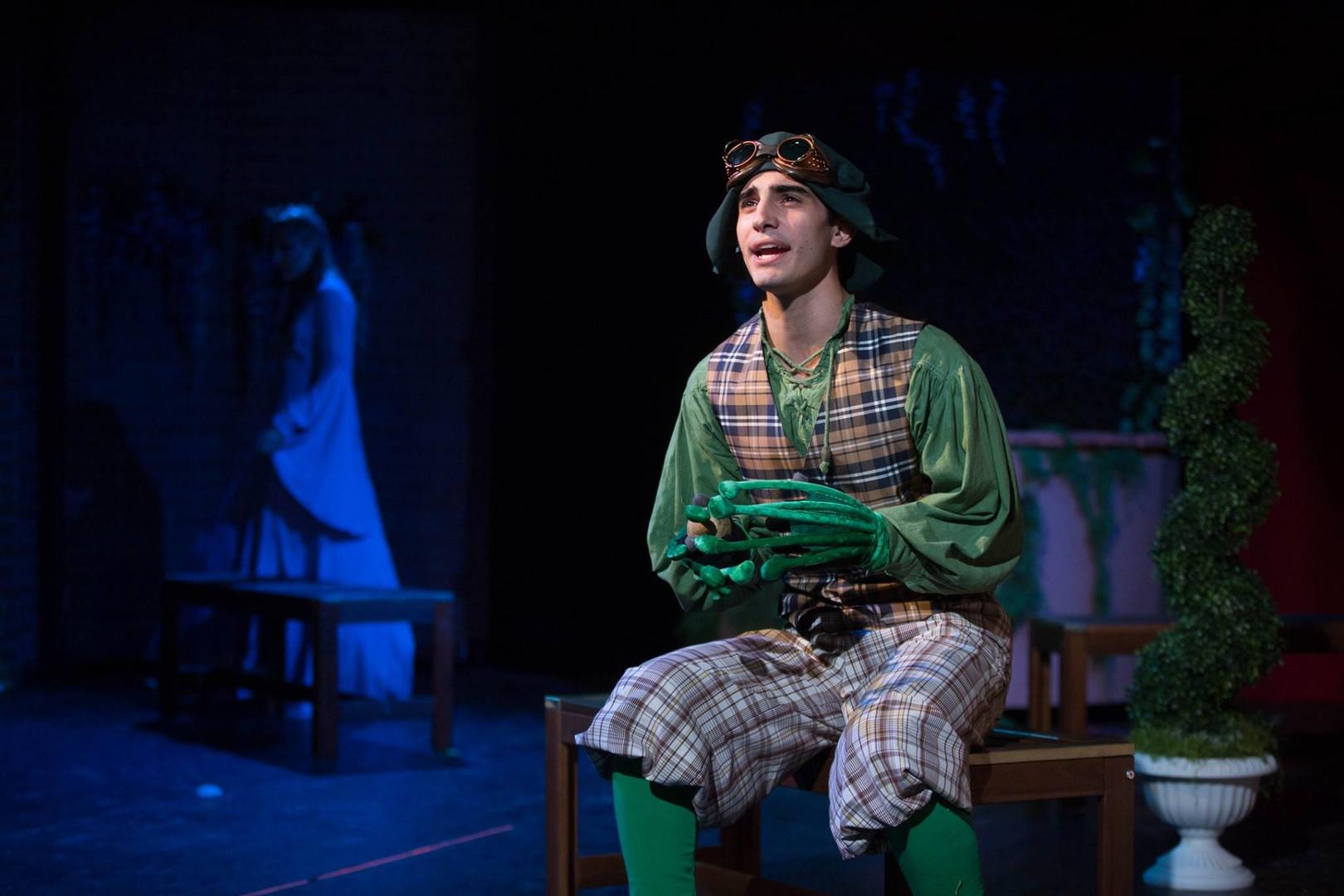 Salvatore Vieiera as Croaker, Three Act Theatre Company.  Photo by Micah Jay Photography.