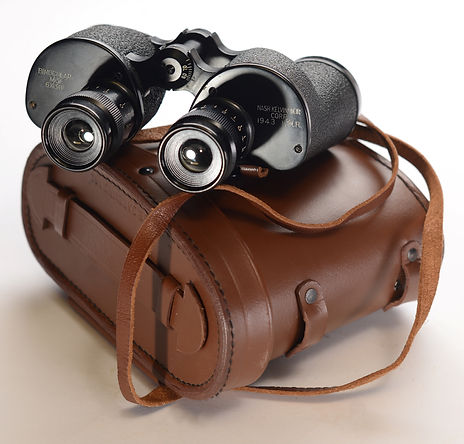 Binoculars used by Tank Commander photo by Robert Coldwell Sr.