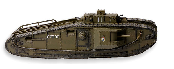 US Mk VIII International Liberty Tank 1/35th Model Commander Series Models photo by Robert Coldwell Sr.