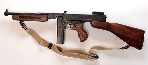 Tommy Gun M1928A1 photo by Robert Coldwell Sr.