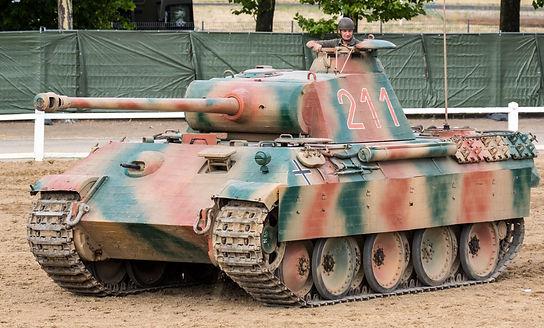 Panther tank Musée des Blindés Samaur by Massimo Foti