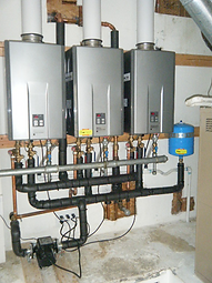 tankless water heater installation ralei