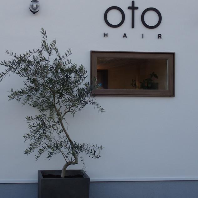 OTO HAIR様 店舗植栽