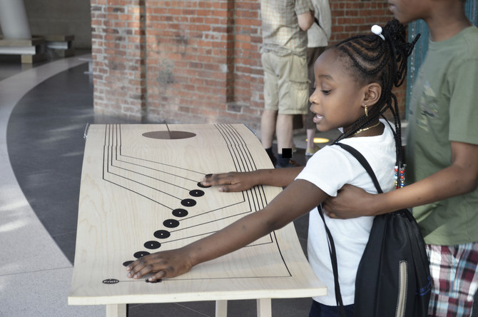 Interactive table by Maria Castillo
