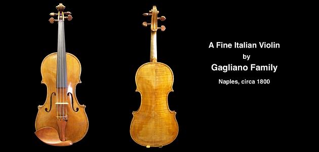 Gagliano | Guadagnini Violin Shop | www.guadagniniviolins.com | Chicago