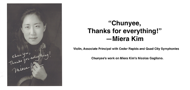 MIERA KIM | Guadagnini Violin Shop | www.guadagniniviolins.com | Chicago
