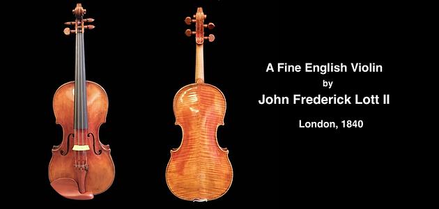 John Frederick Lott II | Guadagnini Violin Shop | www.guadagniniviolins.com | Chicago