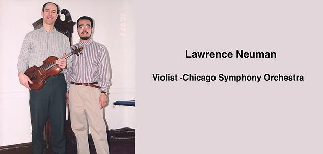 LAWRENCE NEUMAN | Guadagnini Violin Shop | www.guadagniniviolins.com | Chicago