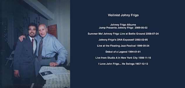 JOHNNY FRIGO | Guadagnini Violin Shop | www.guadagniniviolins.com | Chicago