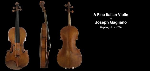 Joseph Gagliano | Guadagnini Violin Shop | www.guadagniniviolins.com | Chicago
