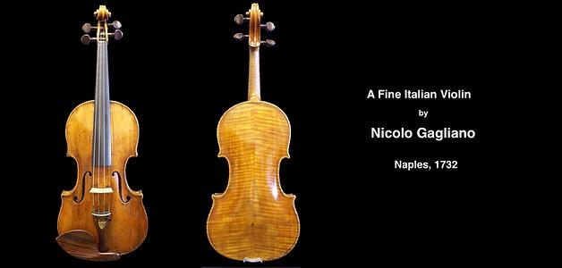 Nicolo Gagliano | Guadagnini Violin Shop | www.guadagniniviolins.com | Chicago