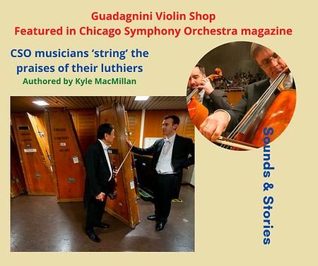 CHUNYEE LU   Guadagnini Violin Shop   www.guadagniniviolins.com   Chicago