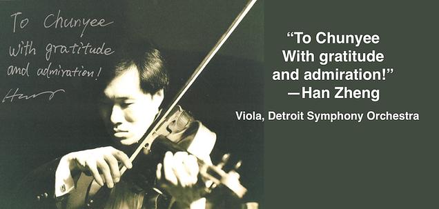 Han Zheng | Guadagnini Violin Shop | www.guadagniniviolins.com | Chicago