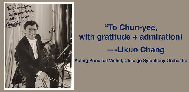 LI-KUO CHANG | Guadagnini Violin Shop | www.guadagniniviolins.com | Chicago