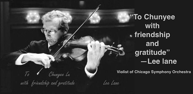 LEE LANE | Guadagnini Violin Shop | www.guadagniniviolins.com | Chicago
