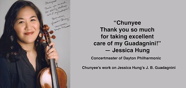 JESSICA HUNG | Guadagnini Violin Shop | www.guadagniniviolins.com | Chicago