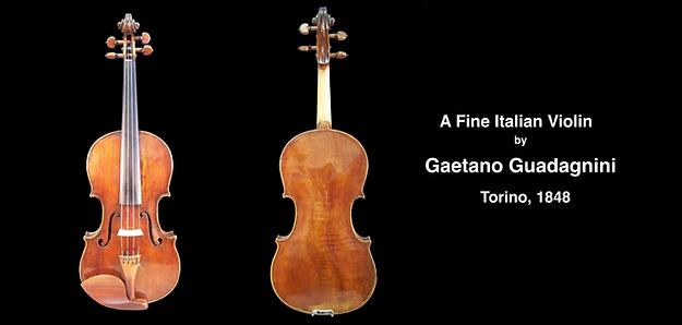 Gaetano Guadagnini | Guadagnini Violin Shop | www.guadagniniviolins.com | Chicago