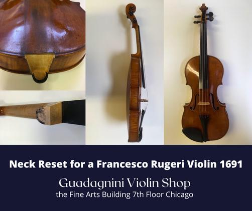 Restorations | Guadagnini Violin Shop | www.guadagniniviolins.com | Chicago