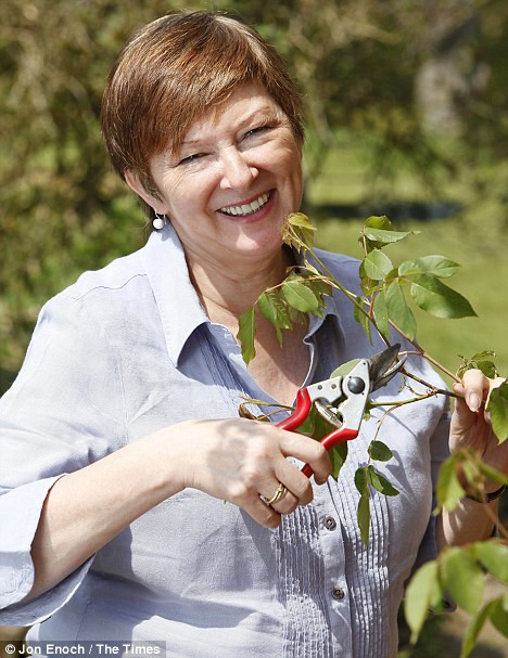 A passion shared: Catherine Horwood developed a lifelong love for gardening thanks to her mother