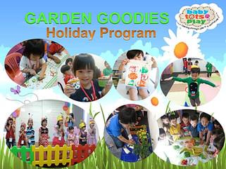 3 Days Holiday Program (Garden Goodies) , 7th - 9th December 2016