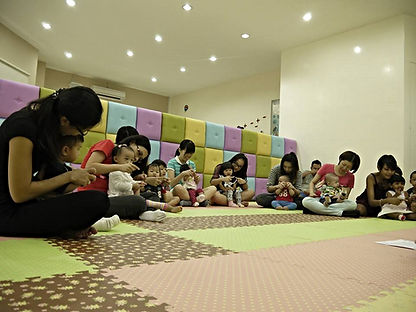Babytots@play is Malaysia's leading early learning centre providing multi-sensory play, music and movement,art & craft classes for babies and toddlers Babytots@play is Malaysia's leading early learning centre providing multi-sensory play,music & movement,art & craft classes. Baby class toddlers class