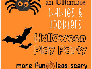 Halloween Play Party @ Babytots@play , 22nd October 2016