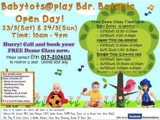 Open Day @ Bandar Botanic, Klang 23rd - 24th May 2015