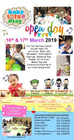 Open Day @ Babytots@play, 16th & 17th March 2019