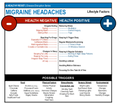Migraine Headaches Lifestyle Factors