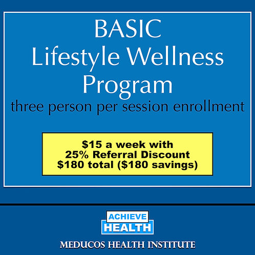 BASIC Lifestyle Wellness Program - Three People