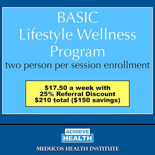 BASIC Lifestyle Wellness Program - Two People