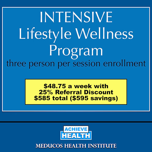 INTENSIVE Lifestyle Wellness Program - Three People
