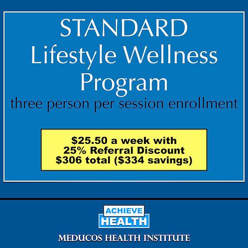 STANDARD Lifestyle Wellness Program - Three People